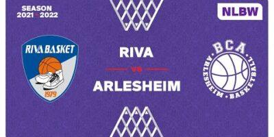 NLB Women - Day 3: RIVA vs. ARLESHEIM