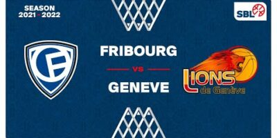 SB League - Day 4: FRIBOURG vs. GENEVE