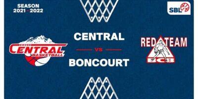 SB League - Day 4: SWISS CENTRAL vs. BONCOURT