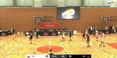Lions de Genève vs. Swiss Central Basketball - Game Highlights