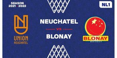 NL1 Men - Day 4: NEUCHATEL vs. BLONAY