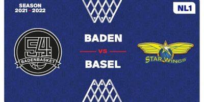 NL1 Men - Day 4: BADEN vs. STARWINGS
