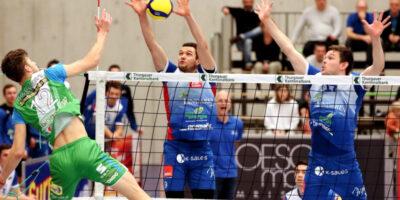 Volleyball NLA Herren: LINDAREN Volley Amriswil - TSV Jona