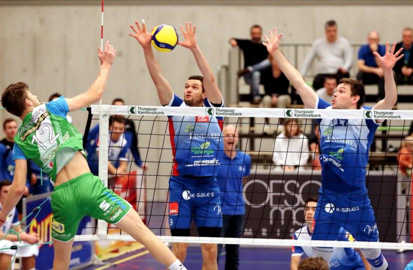Volleyball NLA Herren: LINDAREN Volley Amriswil – Biogas Volley Näfels