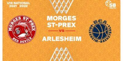 U18 National - Day 3: MORGES vs. ARLESHEIM