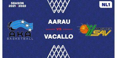 NL1 Men - Day 4: AARAU vs. VACALLO